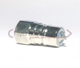 Faster Insteeknippel ISO7241-A (Bouwgrootte:1/4'', Koppelingsmaat: 1/4'')