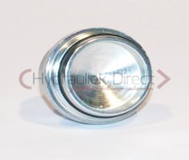 PLUG L/S FEMALE DIN2353 24° met O-ring ( L35 )