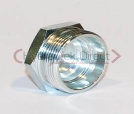PLUG L/S MALE DIN2353 24° Body only ( L18 )