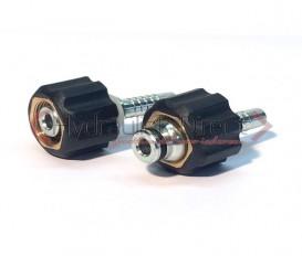 Hogedrukreiniger koppeling Type FK - 14mm,  M22x1.5 (Slangmaat: 1/4'')