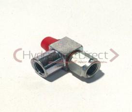 Instelbare L-koppeling M10x1k-M10x1-G1/8