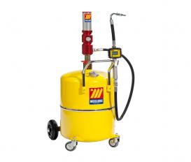 Pneumatische olie dispenser 65 liter met digitaal mondstuk | 3:1  30 l/min