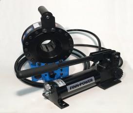 FINN POWER P16HPZ HYDRAULIEK SLANGENPERS MET SEPERATE PERSKOP (Compleet met persbekkenset)
