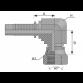 FEMALE 90 GR. JIC SV 74 GR. CONUS UNF Compact